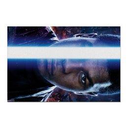 """Холст 60x90 """"Звездные войны - Финн"""" - кино, фантастика, star wars, звездные войны, дарт вейдер"""