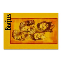 "Холст 60x90 ""The Beatles"" - beatles, the beatles, битлз, рок музыка, рок группа"