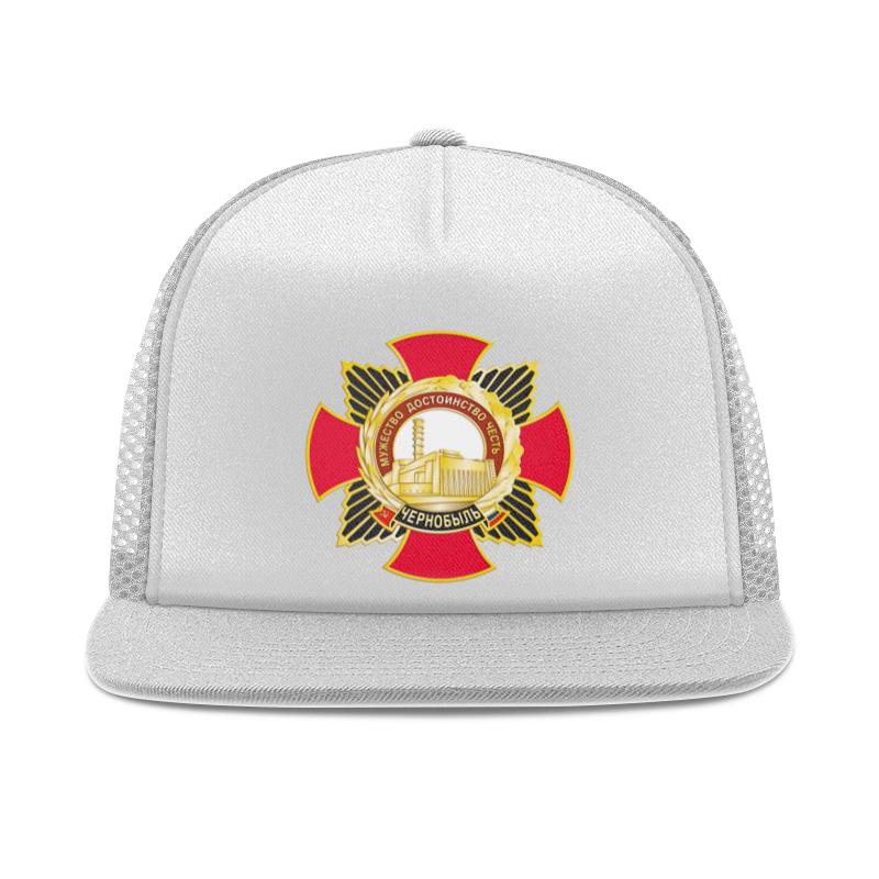 Printio Чернобыль кепка тракер с сеткой printio логотип москвы