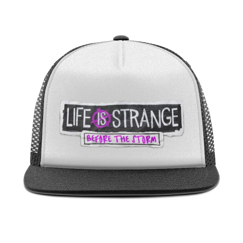 Кепка тракер с сеткой Printio Life is strange