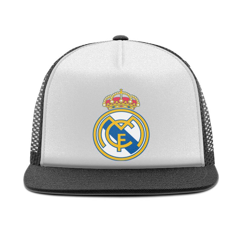 Printio Реал мадрид кепка тракер с сеткой printio логотип москвы