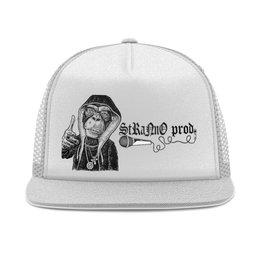 """Кепка тракер с сеткой """"Хип хоп"""" - музыка, рэп, унисекс, молодые, хип-хоп"""