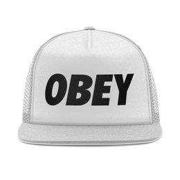 """Кепка тракер с сеткой """"OBEY """" - мода, бренд, тренд, obey, обей"""