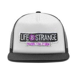 "Кепка тракер с сеткой ""Life Is Strange"" - игры, playstation, life is strange"