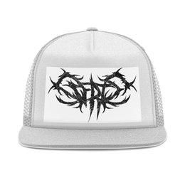"""Кепка тракер с сеткой """"Scerts Doker Horizontal Logo I 2018"""" - logo, metal, логотип, метал, scerts"""