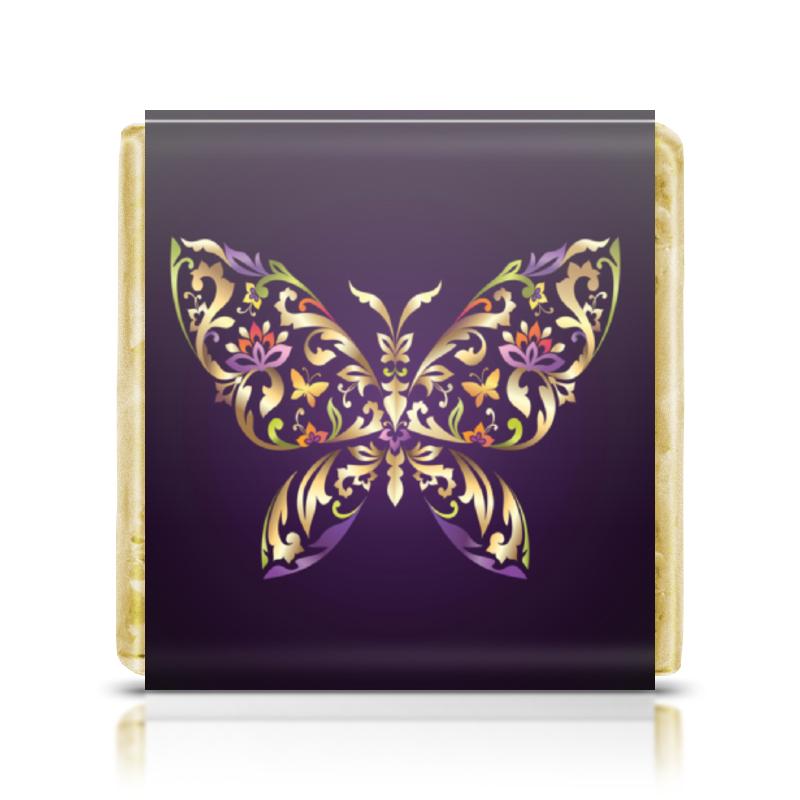 Шоколадка 35х35 Printio Butterfly lenovo vibe c2 k10a40 dual sim 8gb lte black