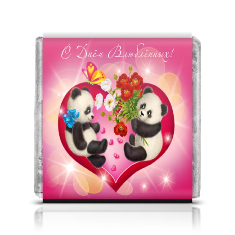 Шоколадка 35х35 Printio День влюбленных шоколадка 35х35 printio день матери и новый год