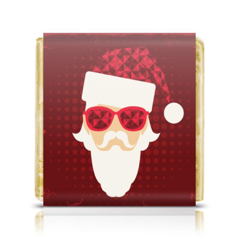 Шоколадка 35х35 Printio Дед мороз сладкая сказка печенье дед мороз и снегурочка 400 г