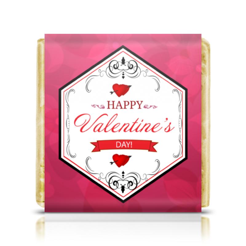 Шоколадка 35х35 Printio День святого валентина шоколадка 35х35 printio день матери и новый год