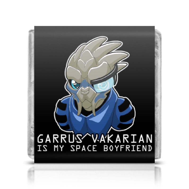 Шоколадка 35х35 Printio Mass effect (garrus vakarian) mass effect volume 4 homeworlds