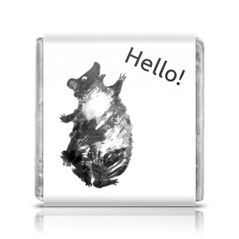 Шоколадка 35х35 Printio Танцующий мишка мишка тед из фильма третий лишний