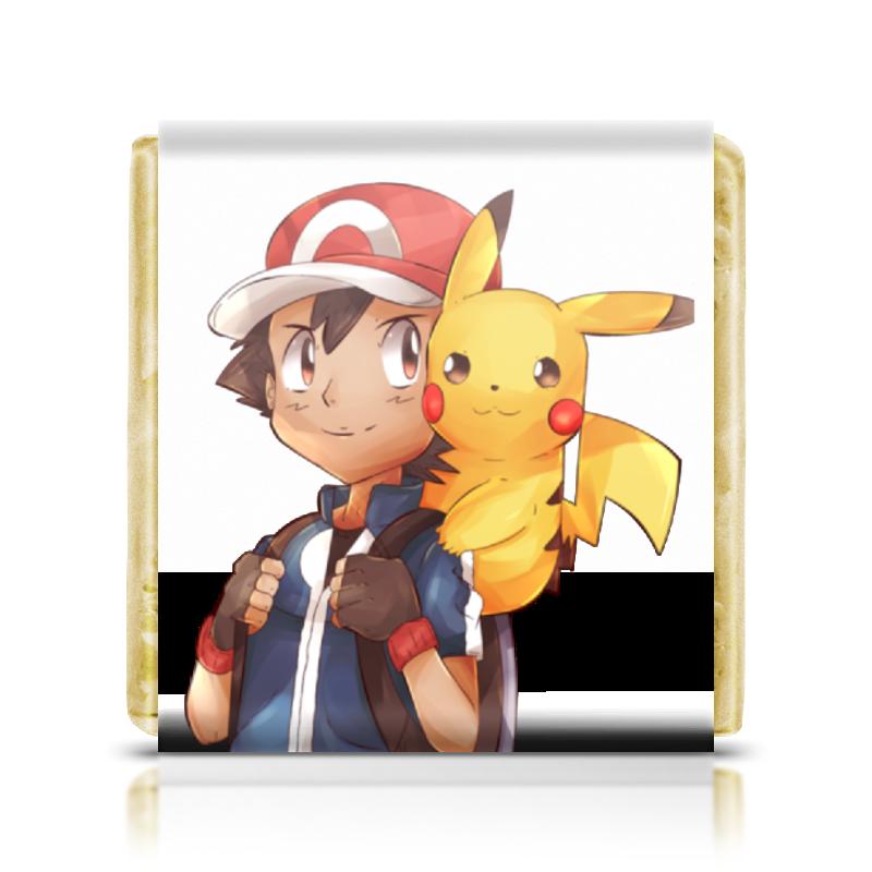 Фото - Шоколадка 3,5×3,5 см Printio Pokemon прочие аниме реквезиты pokemon chimecho