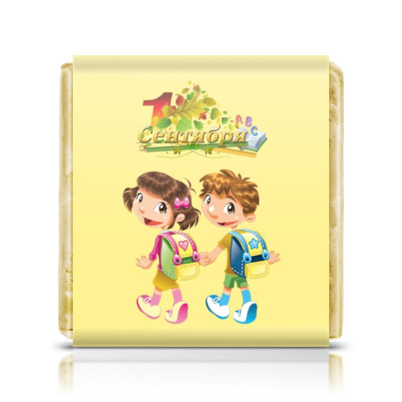 Шоколадка 35х35 Printio 1 сентября