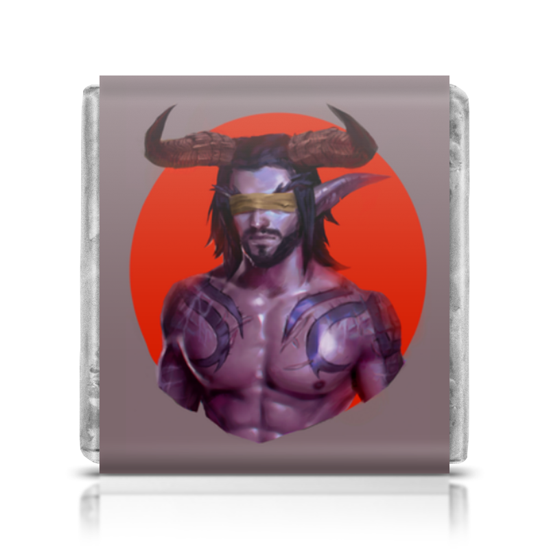 Шоколадка 35х35 Printio Warcraft: illidan шоколадка 35х35 printio апельсины