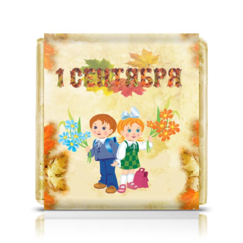 Шоколадка 35х35 Printio 1 сентября цветы 1 сентября зеленоград