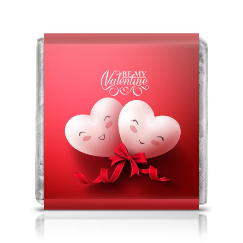 Шоколадка 35х35 Printio Валентинка шоколадка к 8 марта