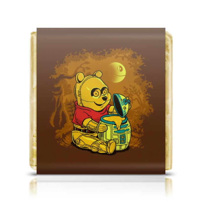 Шоколадка 3,5×3,5 см Printio Винни пух терминатор ледянки disney винни пух 52 см