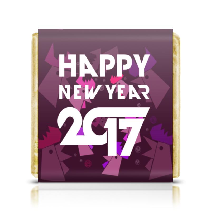 Шоколадка 35х35 Printio Happy new year фартук с полной запечаткой printio happy new year 2017