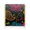 """Шоколадка 35х35 """"Цветочная"""" - цветы, узор, стиль, рисунок, орнамент"""