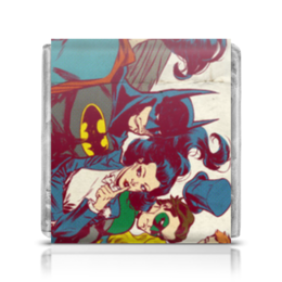 "Шоколадка 35х35 ""DC Universe"" - comics, dc"