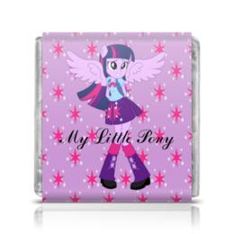 """Шоколадка 35х35 """"Искорка (Девочки Эквестрии)"""" - mlp, мой маленький пони, искорка, equestria girls, девочки эквестрии"""