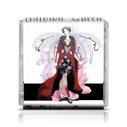 "Шоколадка 35х35 ""Королева Моды (ESZAdesign)"" - стиль, рисунок, мода, графика, фэшн"