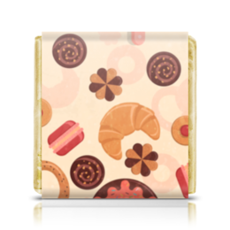 "Шоколадка 35х35 ""Кондитерка"" - конфеты, сладости, печенье, кондитер"