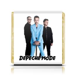 "Шоколадка 35х35 ""Depeche Mode 2017"" - depeche mode, martin gore, synthpop, gahan"