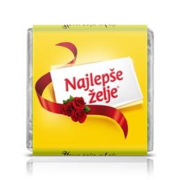 "Шоколадка 35х35 ""Najlepse Zelje"" - сербия"