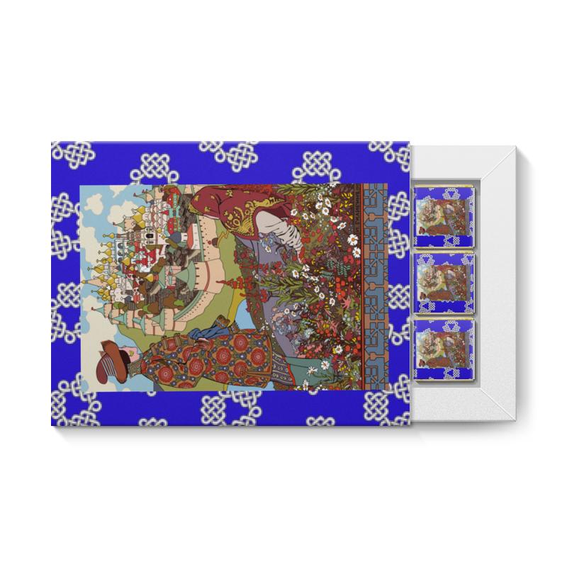 Набор конфет 12 шоколадок Printio И дивясь перед собой город видит он большой артём ткаченко иван город