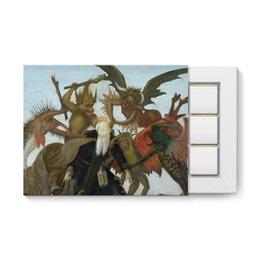"""Набор конфет """"12 шоколадок"""" """"Мучения святого Антония (Микеланджело)"""" - картина, живопись, микеланджело"""