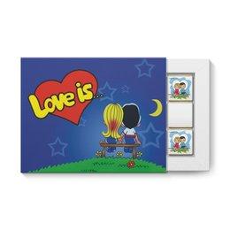 """Набор конфет """"12 шоколадок"""" """"Love is"""" - любовь, love is, 14 февраля, лав из, лавиз"""
