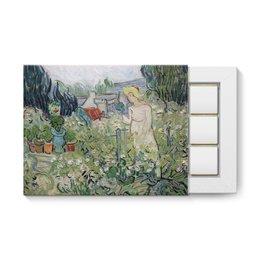 """Набор конфет """"12 шоколадок"""" """"Маргарита Гаше в саду (Винсент Ван Гог)"""" - картина, ван гог, живопись"""