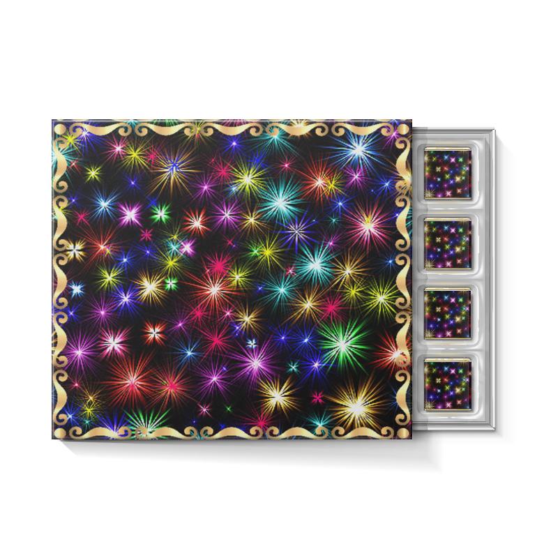 Набор конфет С ореховой начинкой Printio Новогодние звезды ирина вязова новогодние игрушки