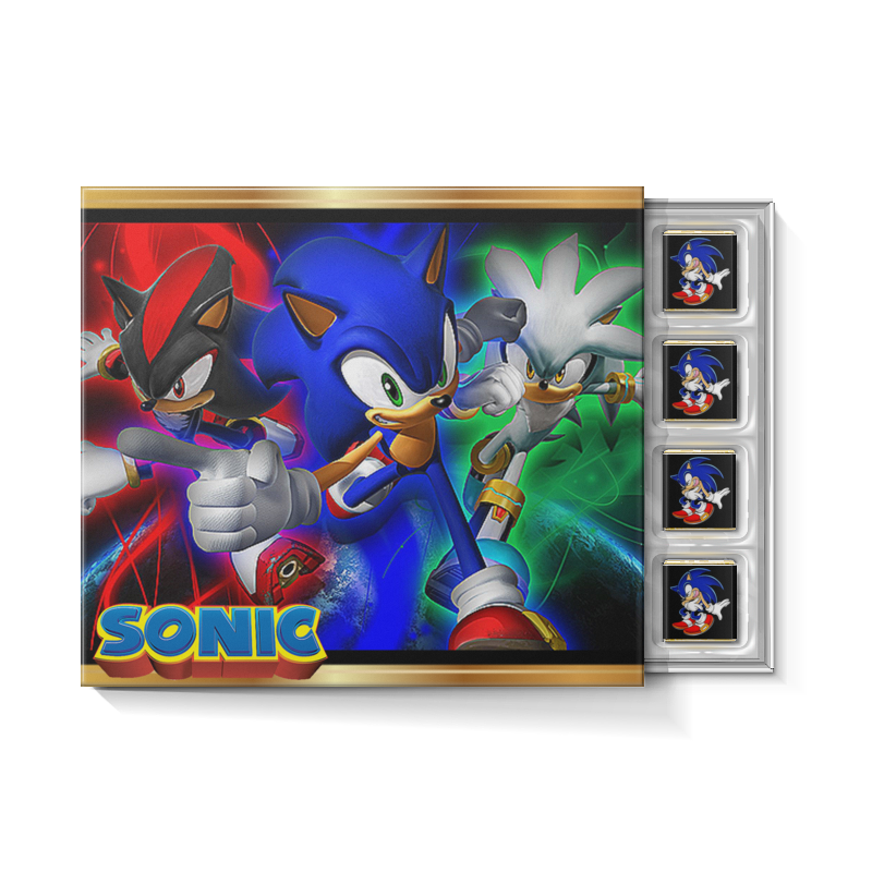 Printio Соник/sonic. видеоигры набор игрушек фигурок sonic соник модерн пэк
