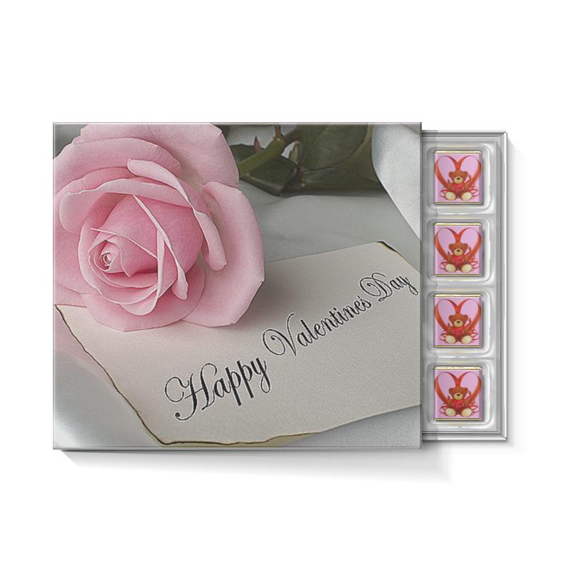 Printio День святого валентина набор конфет с ореховой начинкой printio любовь love