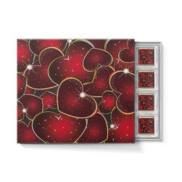 """Набор конфет """"С ореховой начинкой"""" """"ЯРКОЕ СЕРДЦЕ"""" - любовь, стиль, сердца, красота, яркость"""