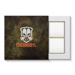"""Набор конфет """"4 шоколадки"""" """"Чернобыль"""" - кино, сериал, катастрофа, чернобыль, зона отчуждения"""