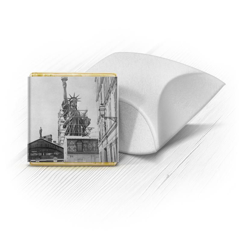 Набор шоколадных конфет Ракушка Printio Статуя свободы аксессуар защитное стекло для samsung galaxy s6 edge onext 3d transparent 41163