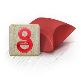 """Набор шоколадных конфет """"Ракушка"""" """"к 8 Марта (в коробке 5 штук)"""" - праздник, 8 марта, работа, подарок"""