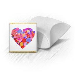 """Набор шоколадных конфет """"Ракушка"""" """"День всех влюбленных"""" - любовь, день святого валентина, валентинка, i love you, день влюбленных"""