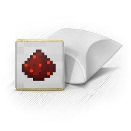 """Набор шоколадных конфет """"Ракушка"""" """"Красный камень"""" - игры, minecraft, майнкрафт"""
