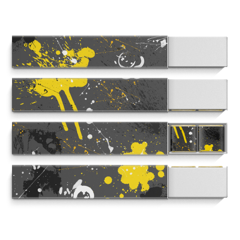 Printio Абстракция асфальт набор шоколадных конфет птичье молоко printio день всех влюбленных