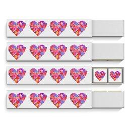 """Набор шоколадных конфет """"Птичье молоко"""" """"День всех влюбленных"""" - любовь, день святого валентина, валентинка, i love you, день влюбленных"""