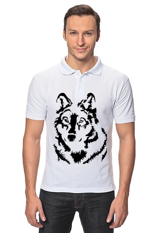 Рубашка Поло Printio Тату волк слюнявчик printio тату волк