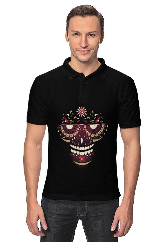 Рубашка Поло Printio Череп поло print bar весёлые черепа