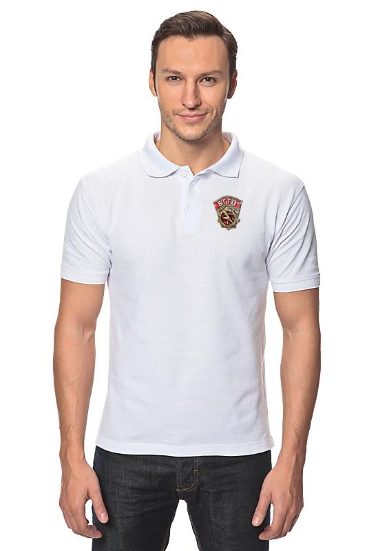 Рубашка Поло Printio Будь готов  труду и обороне