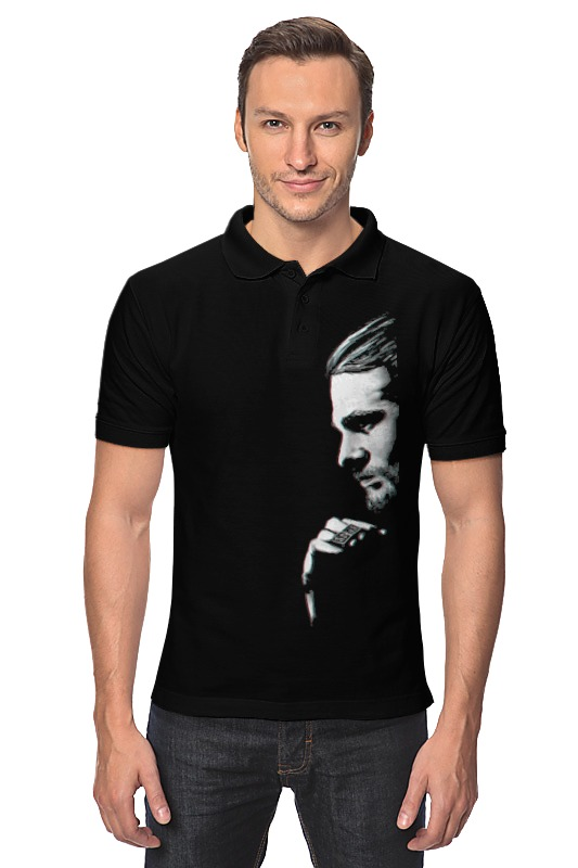 Рубашка Поло Printio Дети анархии рубашка поло printio carstar