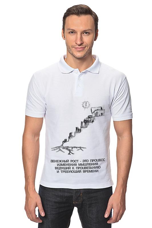 Фото - Рубашка Поло Printio Денежный рост! лонгслив printio денежный рост