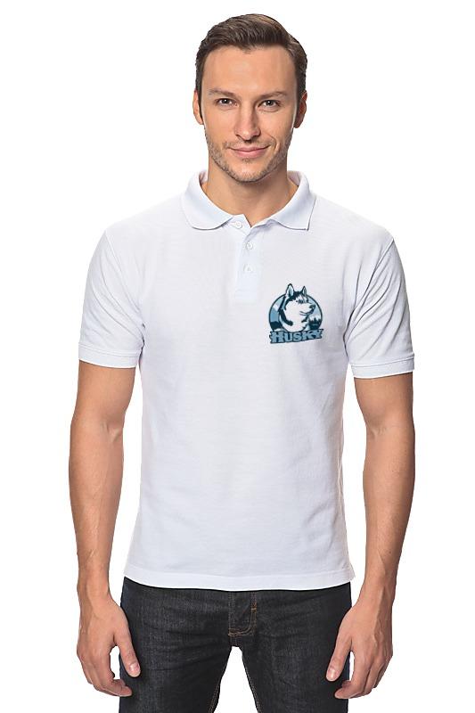 Рубашка Поло Printio Хаски щенков хаски в балашихе